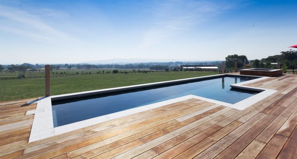 Fastlane fibreglass lap pool