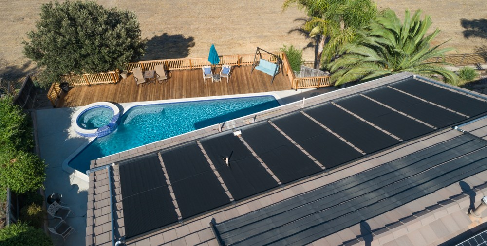 Solar pool heaters are popular in Canberra