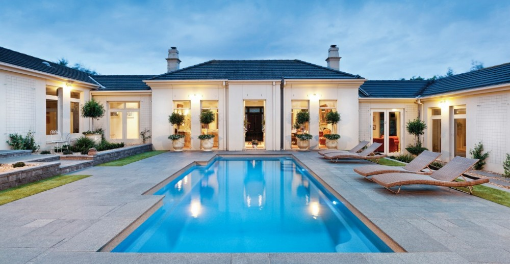Functional yet beautiful the ideal pool landscaping
