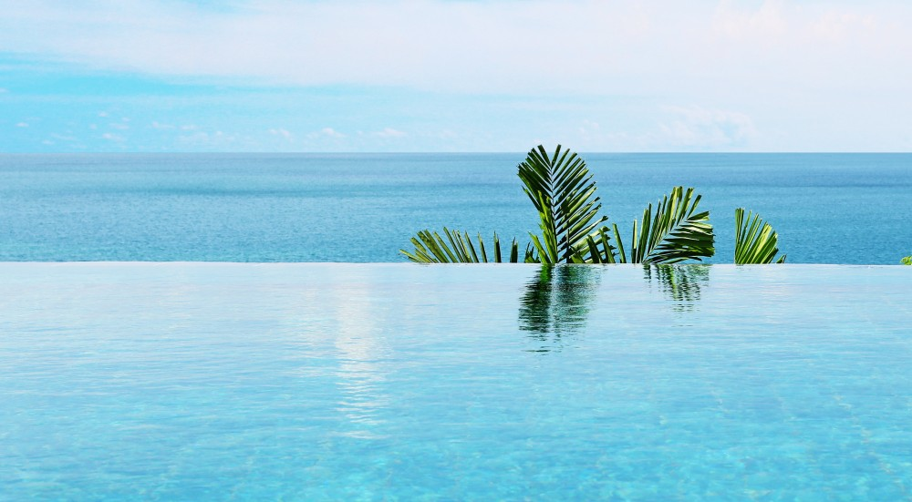 Infinity pool - your little private paradise