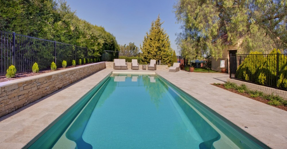 Think of all the design elements you want to consider in your swimming pool landscaping project